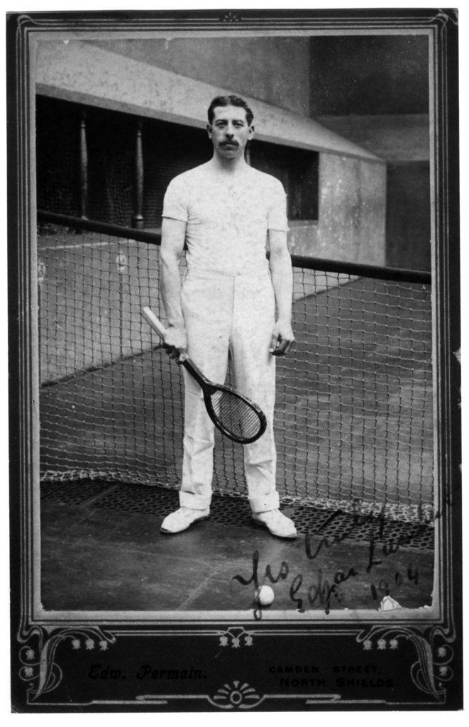 Edgar Lambert photographed in 1904