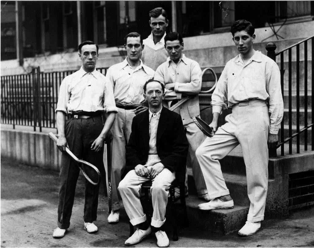 Charles Lambert at Queens 1920 World Championship