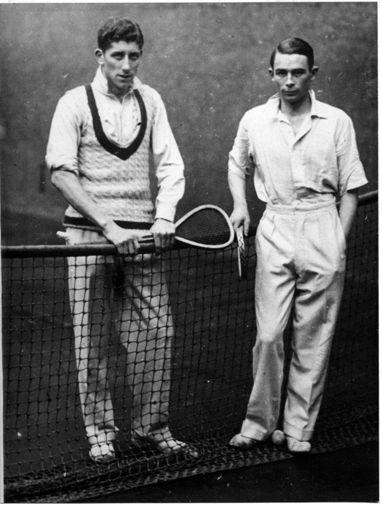 Charles Lambert and RW Goody January 1932