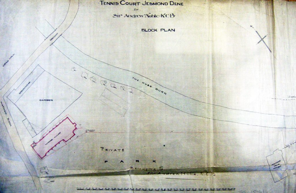 Plan C Grounds and Paths 1894